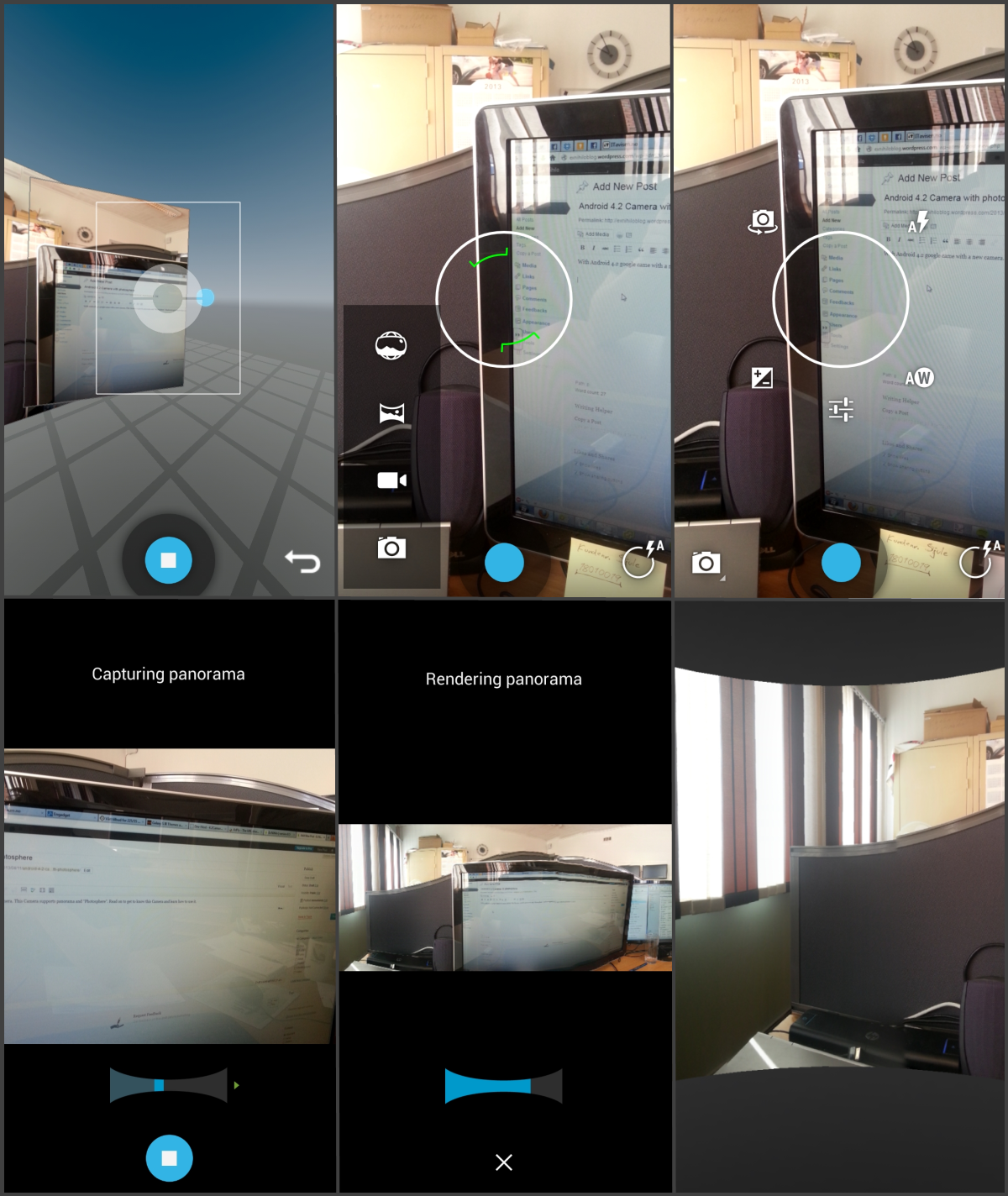 Android 4.2 Camera With Photosphere